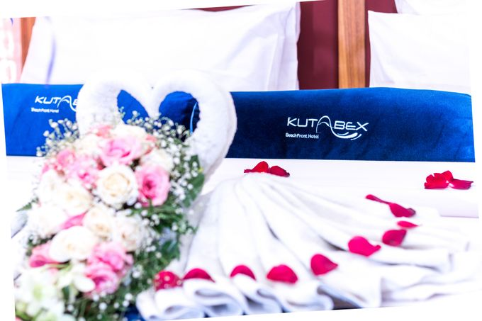 Wedding on a Rooftop at Kuta by KutaBex Beach Front Hotel Bali - 010