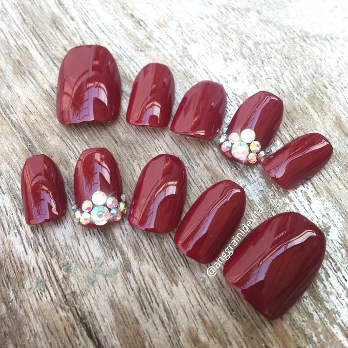 Fake Nails by Story of Nailart - 046