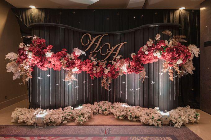 Skenoo Hall - Wedding Decoration of Aldi & Astri by IKK Wedding Venue - 004