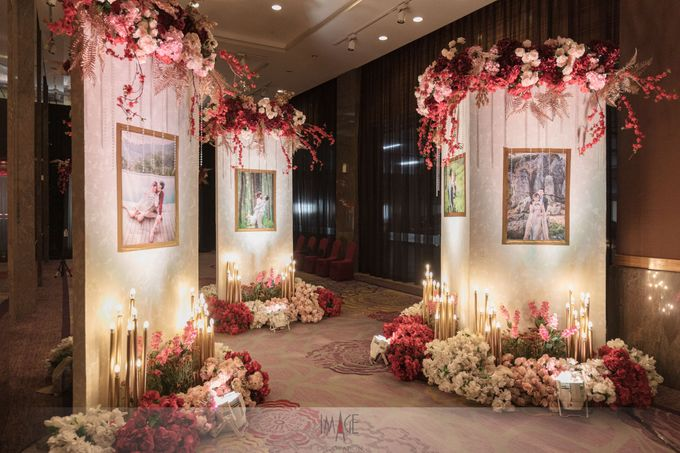 Skenoo Hall - Wedding Decoration of Aldi & Astri by IKK Wedding Venue - 002