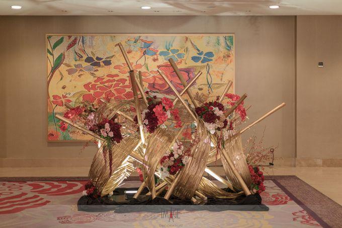 Skenoo Hall - Wedding Decoration of Aldi & Astri by IKK Wedding Venue - 005