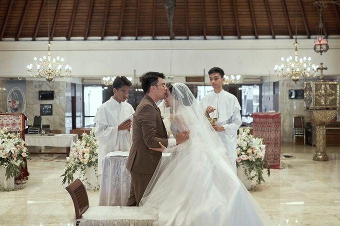 INTERNATIONAL WEDDING OF KEVIN & WIDYA by Dwi Tunggal Citra Catering - 003