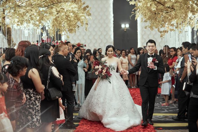 INTERNATIONAL WEDDING OF KEVIN & WIDYA by Dwi Tunggal Citra Catering - 007