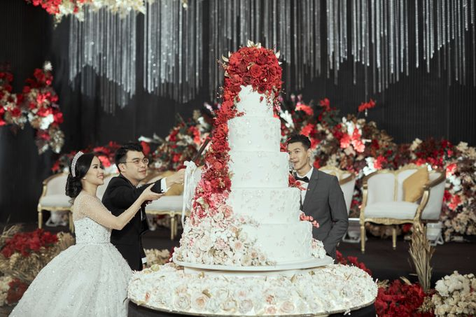 INTERNATIONAL WEDDING OF KEVIN & WIDYA by Dwi Tunggal Citra Catering - 006