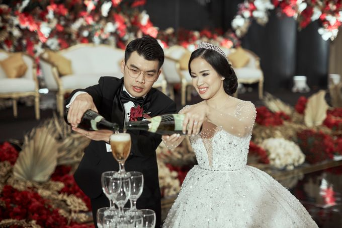 INTERNATIONAL WEDDING OF KEVIN & WIDYA by Dwi Tunggal Citra Catering - 005
