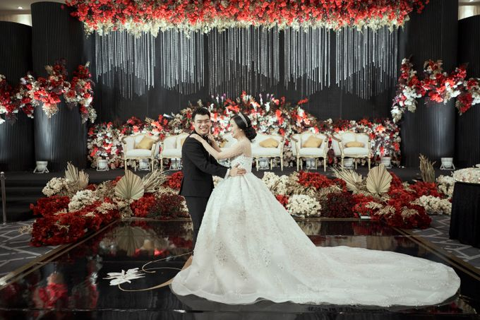 INTERNATIONAL WEDDING OF KEVIN & WIDYA by Dwi Tunggal Citra Catering - 004