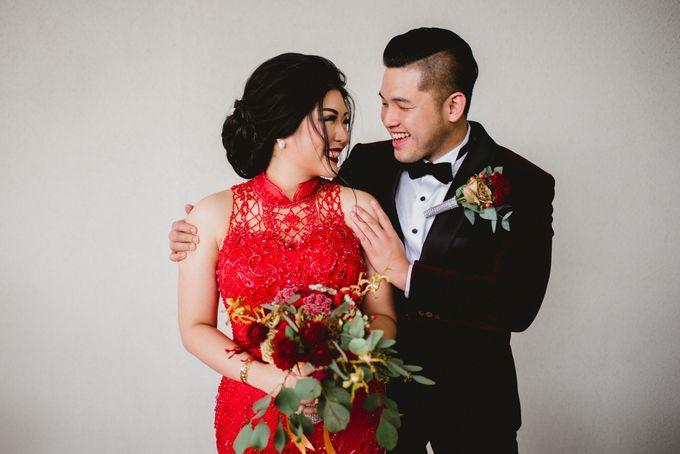 William And Jesica Engagement by Roseveelt Florist - 009