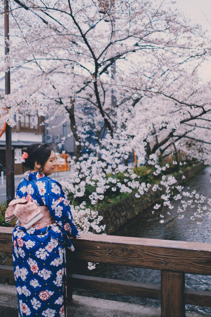 Kyoto Sakura Pre Wedding Shoot by Yipmage Moments - 001