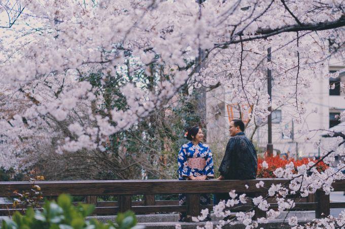 Kyoto Sakura Pre Wedding Shoot by Yipmage Moments - 002