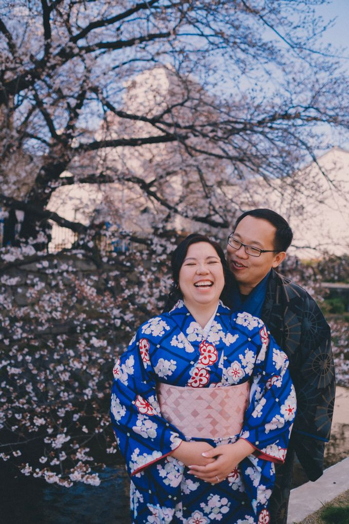 Kyoto Sakura Pre Wedding Shoot by Yipmage Moments - 004