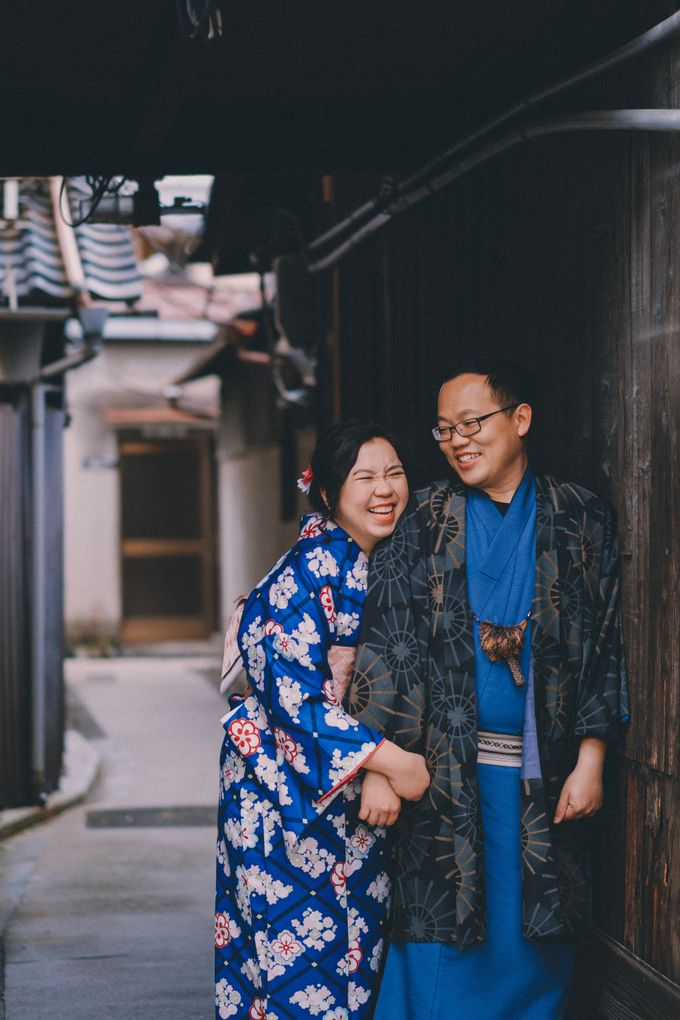 Kyoto Sakura Pre Wedding Shoot by Yipmage Moments - 008