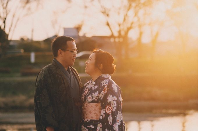 Kyoto Sakura Pre Wedding Shoot by Yipmage Moments - 009