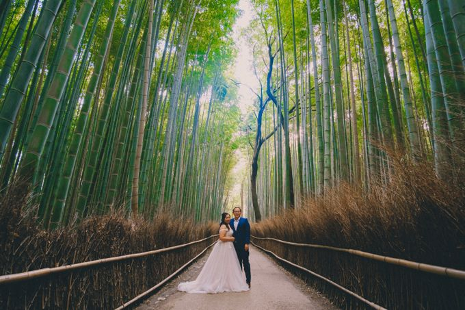 Kyoto Sakura Pre Wedding Shoot by Yipmage Moments - 010