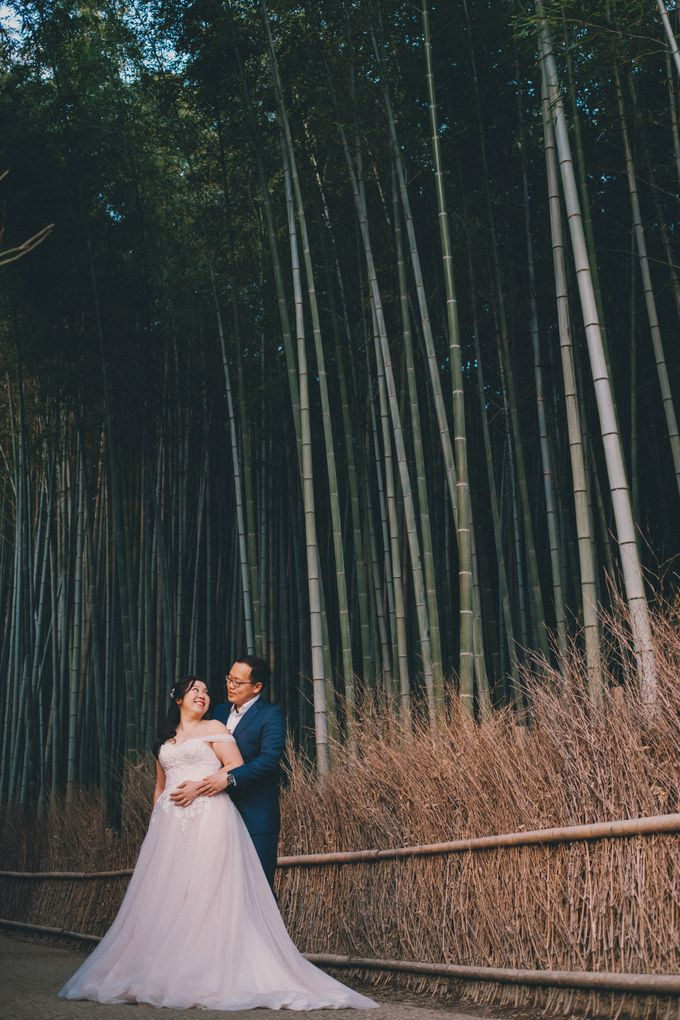 Kyoto Sakura Pre Wedding Shoot by Yipmage Moments - 011