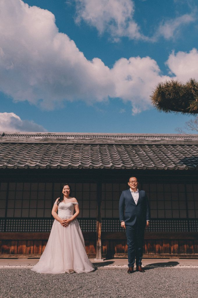Kyoto Sakura Pre Wedding Shoot by Yipmage Moments - 015
