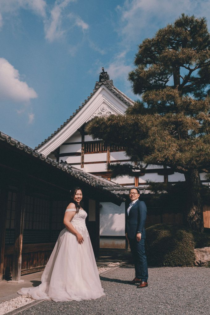 Kyoto Sakura Pre Wedding Shoot by Yipmage Moments - 016