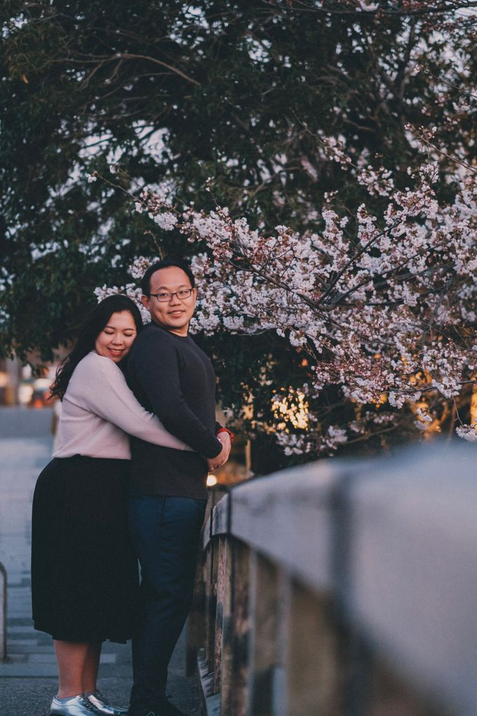 Kyoto Sakura Pre Wedding Shoot by Yipmage Moments - 021