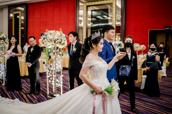 Irwan & Angel Wedding Day by KYRIA WEDDING - 004