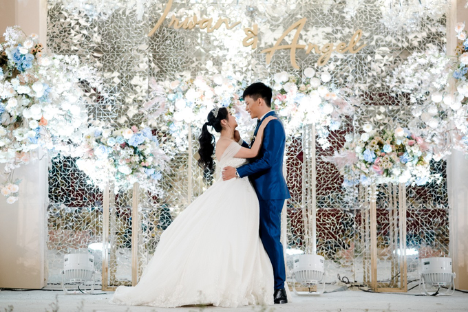 Irwan & Angel Wedding Day by KYRIA WEDDING - 009