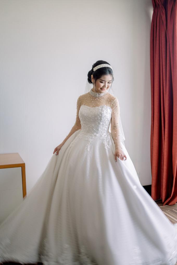 Irwan & Angel Wedding Day by KYRIA WEDDING - 016