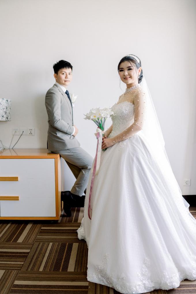 Irwan & Angel Wedding Day by KYRIA WEDDING - 017
