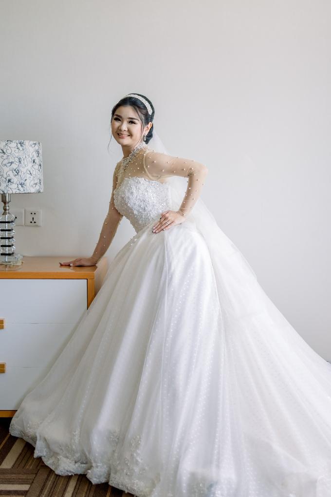 Irwan & Angel Wedding Day by KYRIA WEDDING - 023