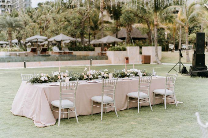 JameSonya's wedding by The Apurva Kempinski Bali - 023