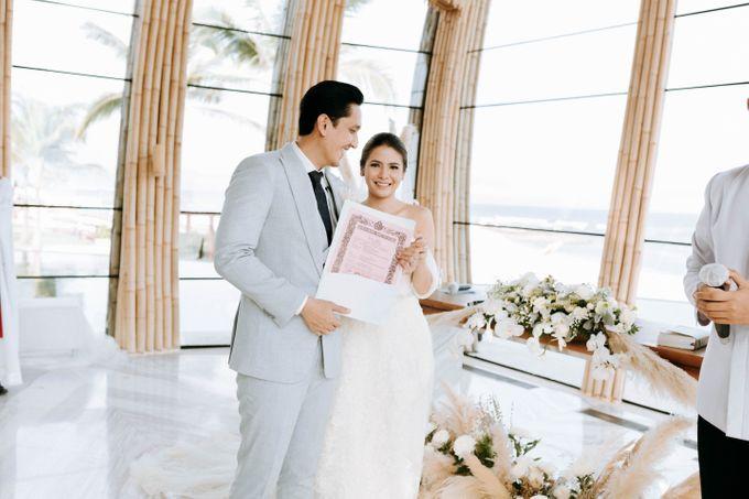 JameSonya's wedding by The Apurva Kempinski Bali - 009