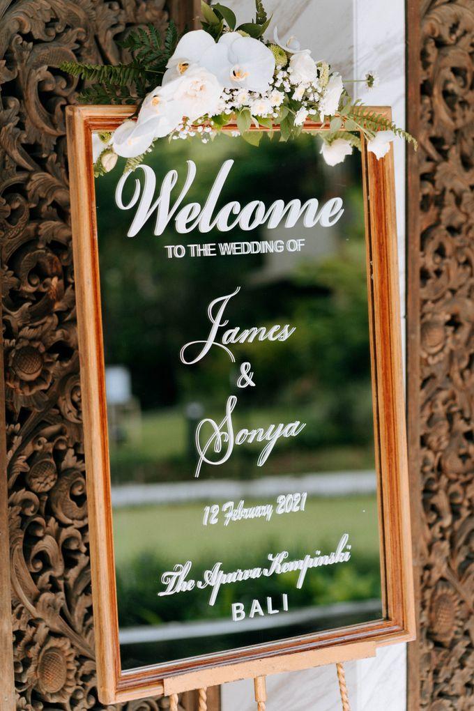 JameSonya's wedding by The Apurva Kempinski Bali - 016