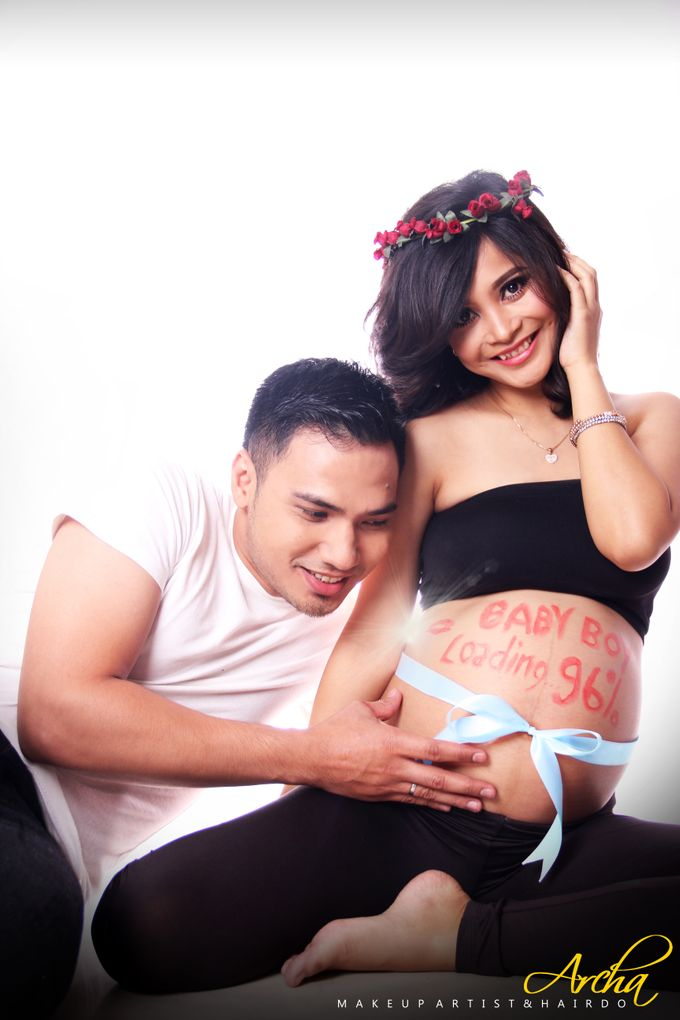 Maternity Photoshoot by Archa makeup artist - 002