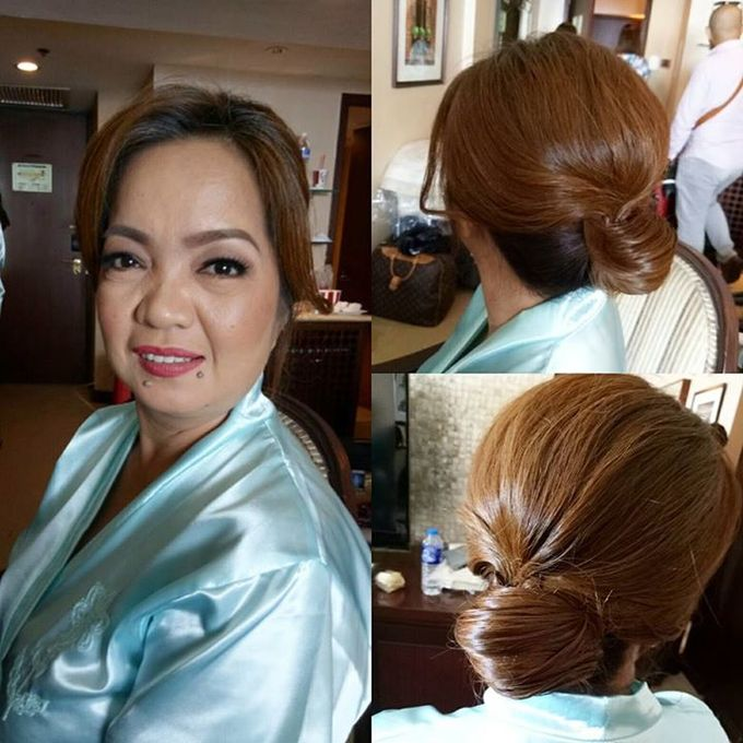 HAIRSTYLING Works(didnt Do Makeup On These Clients) by Diana May Makeup Artistry - 021