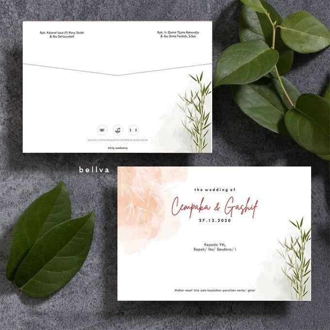 Cempaka & Gashif by Bellva Invitation - 005