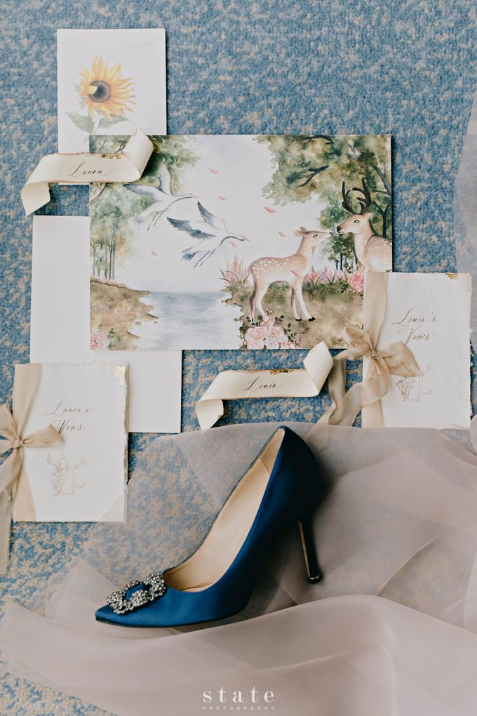 Wedding - Louis & Laura by State Photography - 003