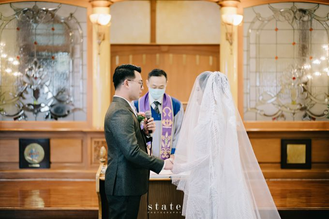 Wedding - Gerry & Claudia by State Photography - 019
