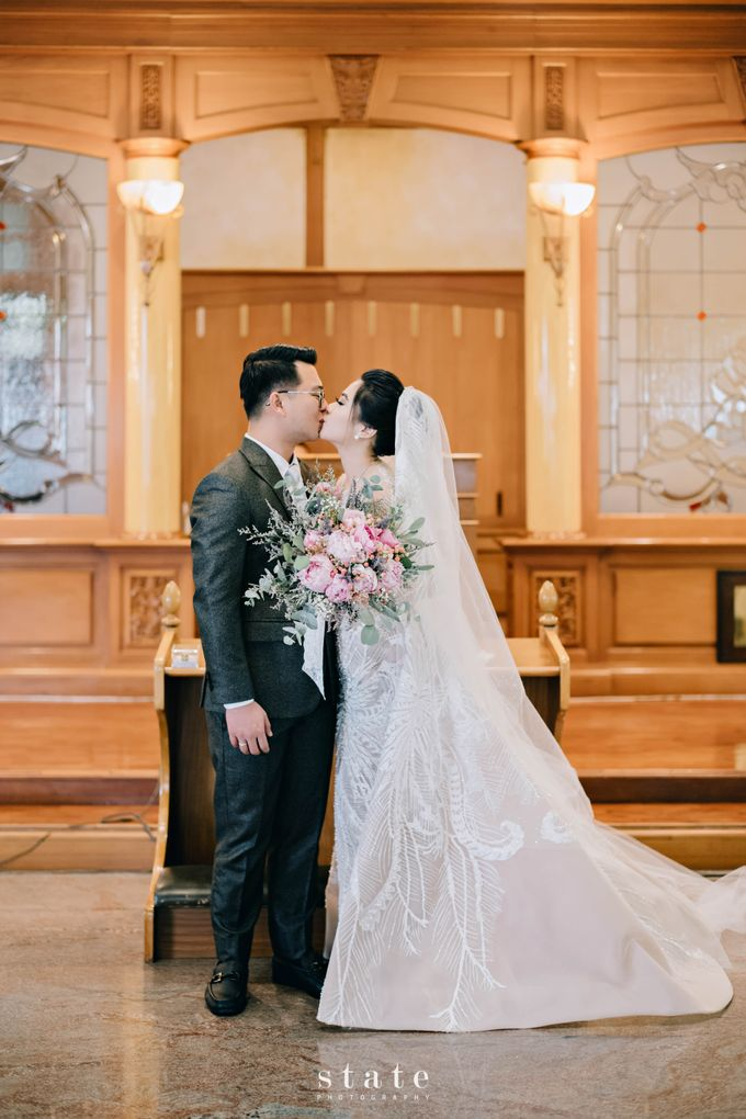 Wedding - Gerry & Claudia by State Photography - 023