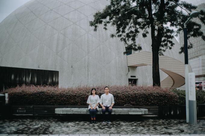 Architecture Prewedding Session Hong Kong Deandra & Hafidz by Hexa Images - 002