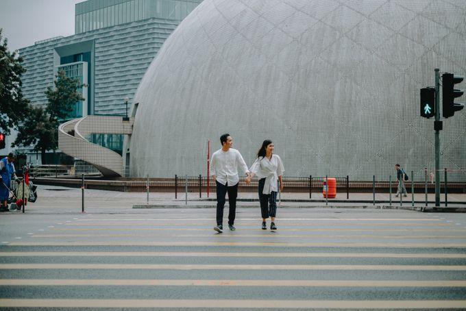 Architecture Prewedding Session Hong Kong Deandra & Hafidz by Hexa Images - 003