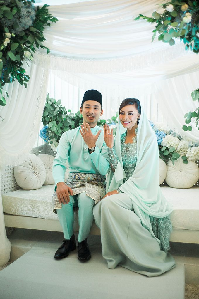 The Traditional Engagement of Niki & Whulan by Namasa Portraire - 032