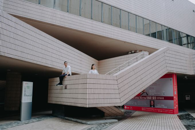 Architecture Prewedding Session Hong Kong Deandra & Hafidz by Hexa Images - 007