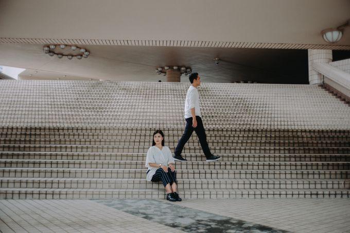 Architecture Prewedding Session Hong Kong Deandra & Hafidz by Hexa Images - 012