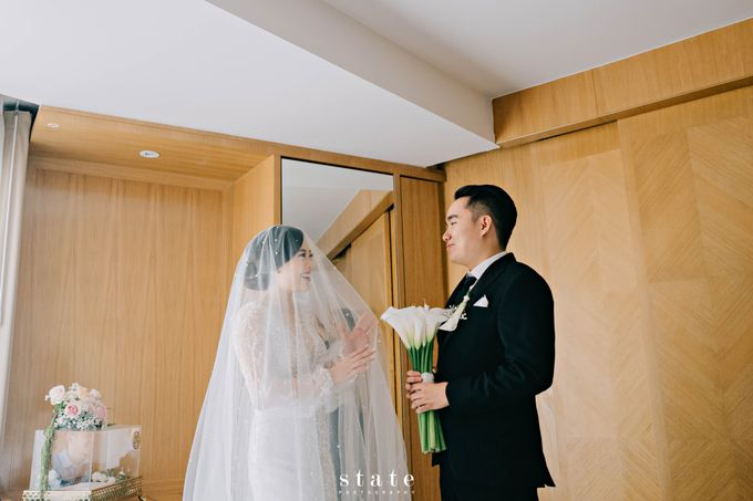 Wedding - Wangsa & Evelyn by State Photography - 025