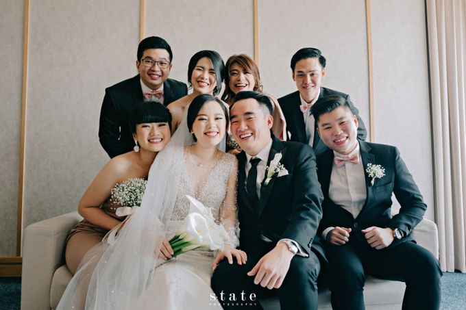 Wedding - Wangsa & Evelyn by State Photography - 032