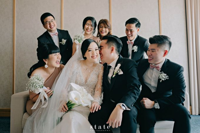 Wedding - Wangsa & Evelyn by State Photography - 031