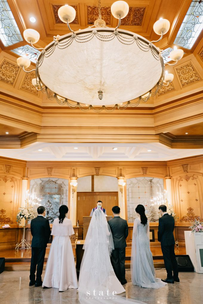 Wedding - Gerry & Claudia by State Photography - 022