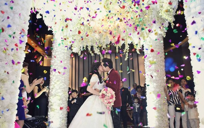 Wedding Day Of Gianzo & Stephanie by Edelweis Organizer - 013