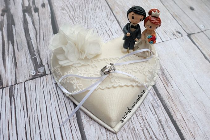 Ring Pillow & Ring Box by Rainbow Couture - 003