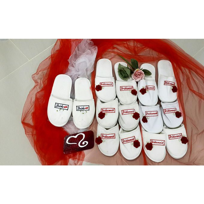 Wedding Slippers by Sweetlovecollection - 001