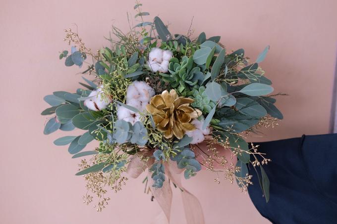 ryan & marcellina by La Bloom Florist - 003