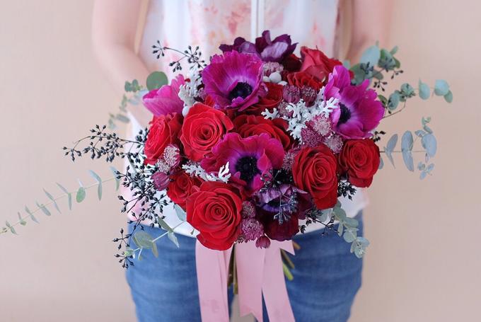 ryan & marcellina by La Bloom Florist - 002