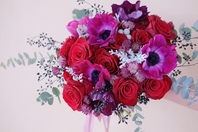 ryan & marcellina by La Bloom Florist - 001